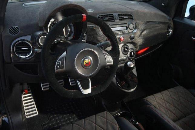 Romeo Ferraris Cinquone Stradale Interior