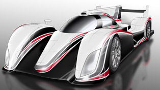 Toyota LMP1 Hybrid Sports Car
