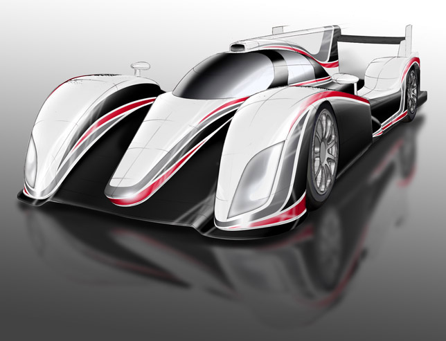 Toyota LMP1 Hybrid Sports Car