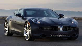 Fisker Karma auctioned for £140 000