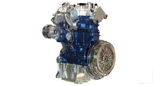 1.0-litre Ford EcoBoost - 125PS with 114g/km CO2