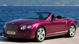 2012 Bentley Continental GTC US Price - $212 800