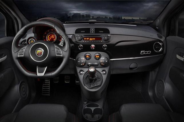 2012 Fiat 500 Abarth US Interior
