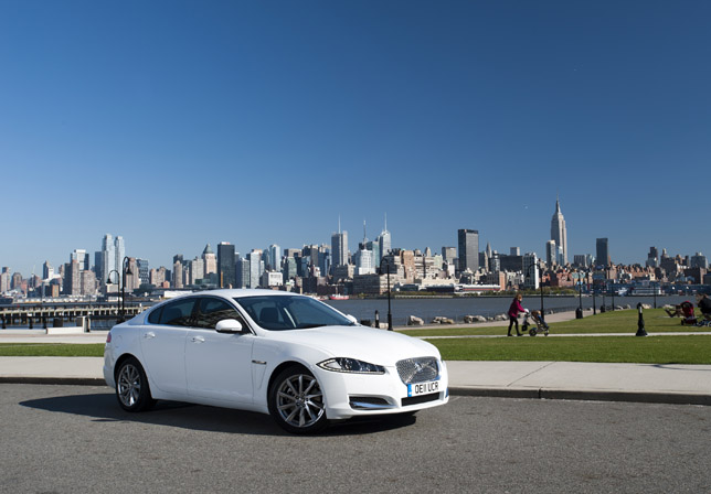 2012 Jaguar XF 2.2 Diesel - Epic Journey New York