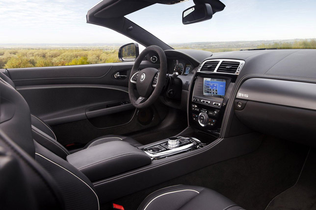 2012 Jaguar XKR-S Convertible Interior