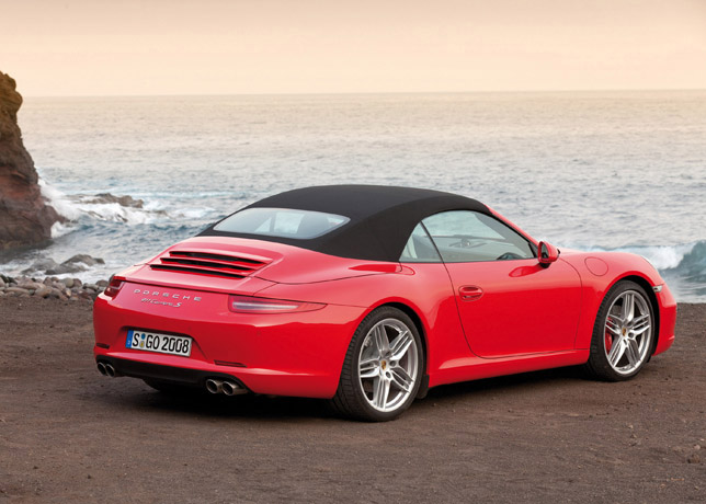 2012 Porsche 911 Carrera S Cabriolet Rear