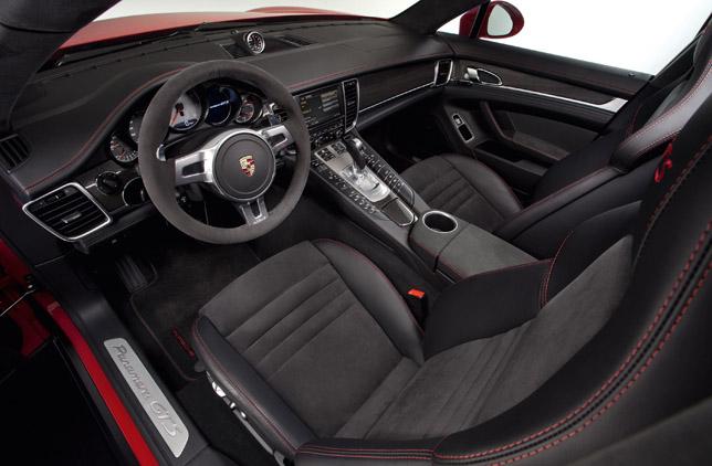 2012 Porsche Panamera GTS Interior