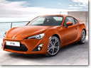 2012 Toyota GT 86 at the 42nd Tokyo Motor Show
