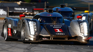 Audi R18 TDI at the 6-Hour Race in China
