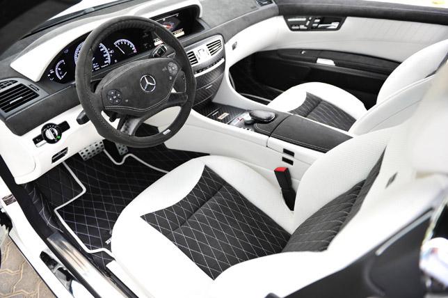 BRABUS 800 Coupe Interior