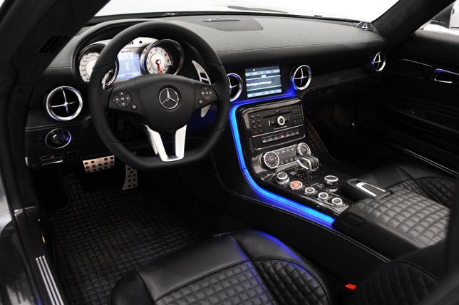 BRABUS Mercedes SLS AMG Roadster Interior