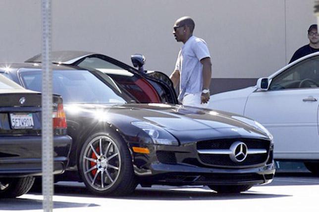 Eddie Murphy Mercedes SLS AMG