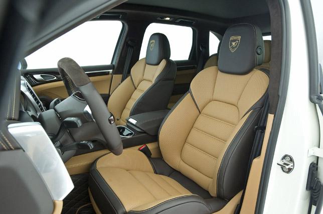 Hamann Guardian Evo Porsche Cayenne II Interior