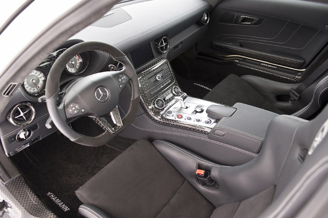 Hamann Hawk Mercedes SLS AMG Interior