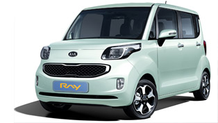 kia ray - a city car for korea