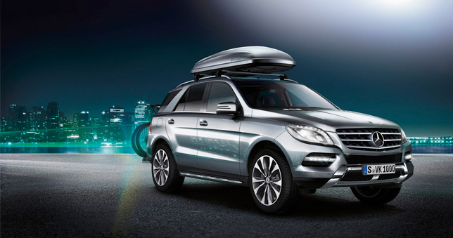 2012 Mercedes-Benz M-Class Accessories