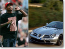 Celebrities and Mercedes-Benz
