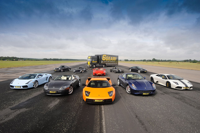 Selection of Supercars