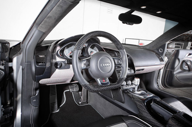 TC-Concepts Audi R8 TOXIQUE Interior