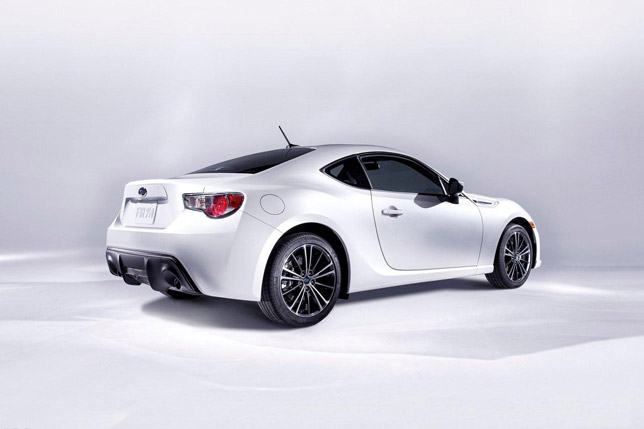 The new Subaru BRZ Rear