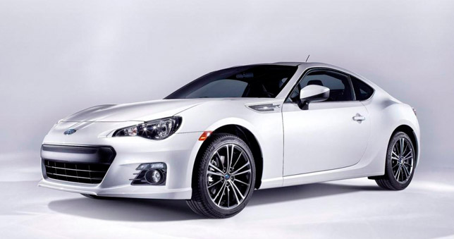 The new Subaru BRZ Frontside