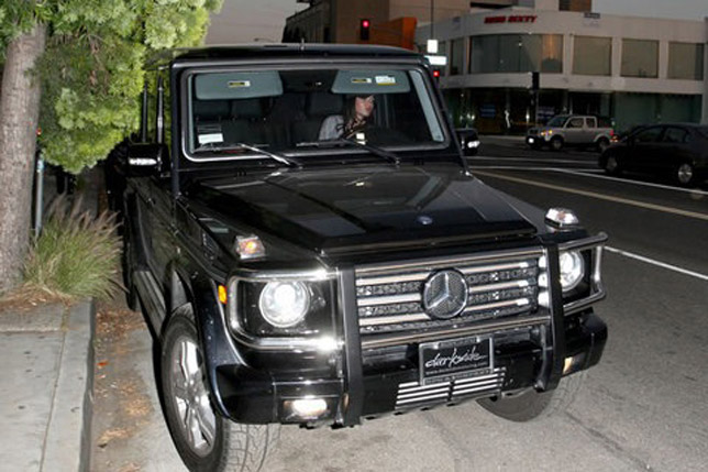 Megan Fox Mercedes GL 320