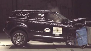 2012 Range Rover Evoque - 5 stars from Euro NCAP [video]