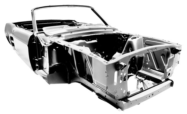 Ford Mustang Convertible body shell (1967)