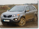 2011 Kia Sorento wins Total 4x4's Best SUV