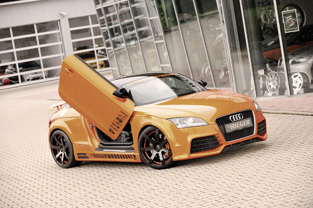 Rieger Audi TT 8J (2011)