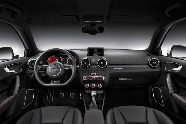 2012 Audi A1 Quattro Interior