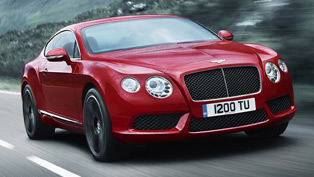 Bentley embraces the V8 world