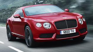 Bentley embraces the V8 world