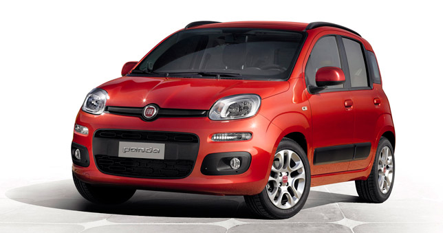 The all-new 2012 Fiat Panda