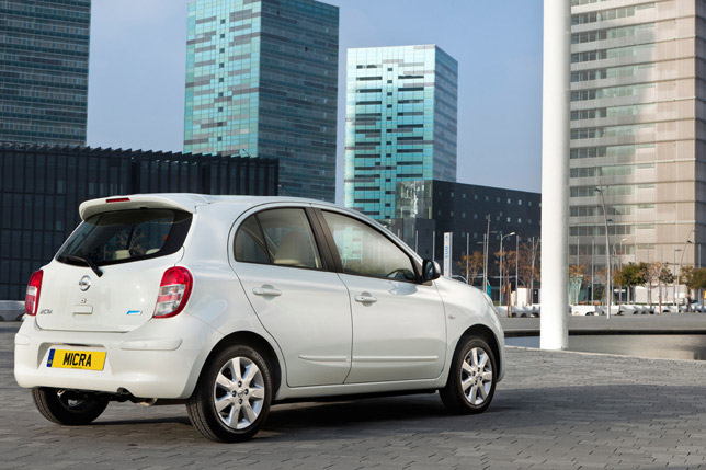 Nissan Micra Shiro Edition (2012)