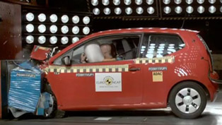 2012 Volkswagen Up - 5 stars from Euro NCAP [video]