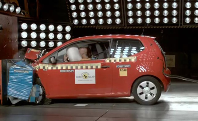 2012 Volkswagen Up Euro NCAP