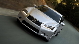 New Lexus GS 350 Under Way