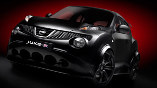 2012 Nissan Juke-R at the race track [video]