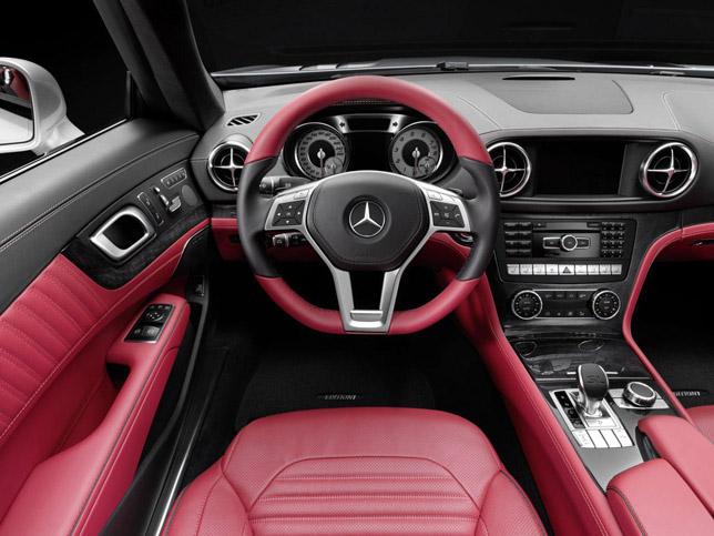 2013 Mercedes-Benz SL-Class Interior