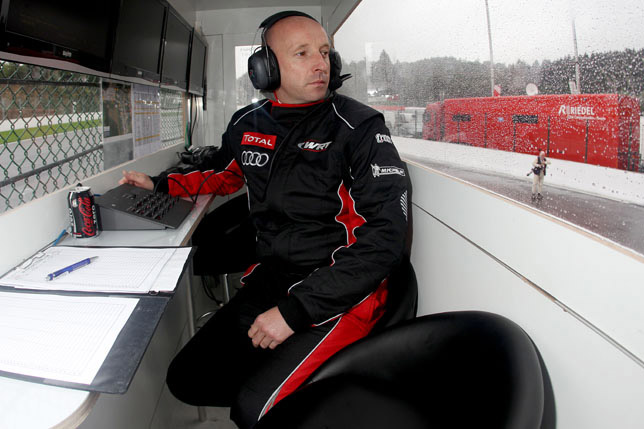 Motorsports: 2011 Spa 24 hours, Vincent Vosse, Teamchef Audi Sport Team WRT