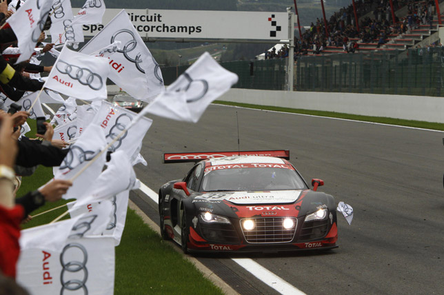 Audi R8 LMS ultra to take part in 2012 FIA GT1 World Championship