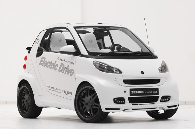 BRABUS ULTIMATE Electric Drive Smart ForTwo Convertible