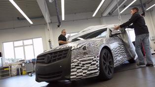 Cadillac Burning Rubber on The Nürburgring