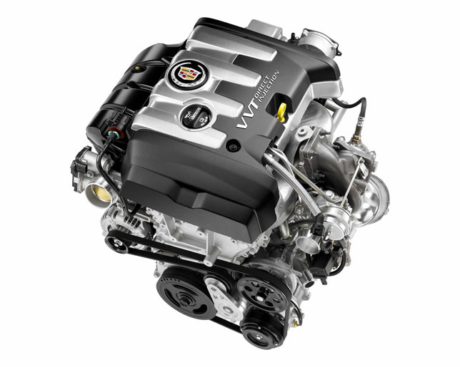 GMC 2.0 liter turbo petrol engine