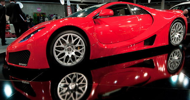GTA Spano at Top Marques 2011