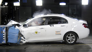 geely emgrand ec7 - 4 stars from euro ncap [video]