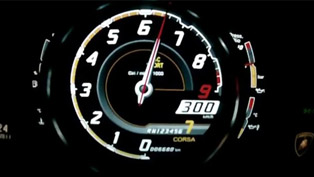 Lamborghini Aventador LP-700-4 Top Speed - 370 km/h [video]
