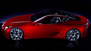 Lexus Concept Named LF-LC Sports Coupe
