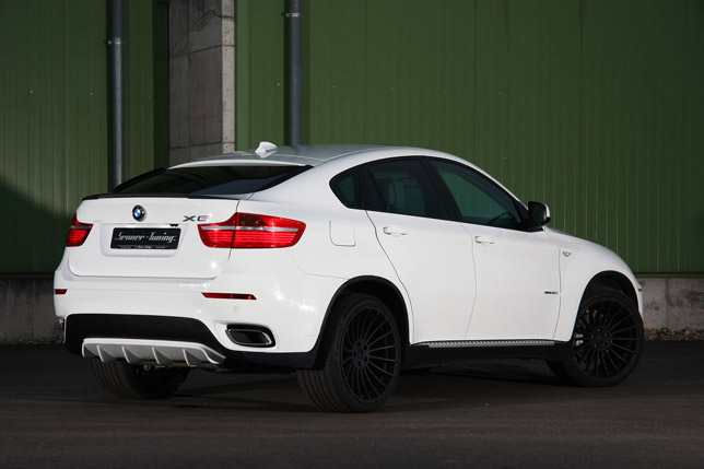SENNER Tuning BMW X6 rear